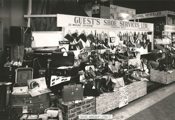 Guest's Shoe Services at an exhibition in 1967